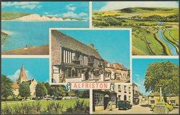 Multiview, Alfriston, Sussex, C.1960s - Bennett Postcard - England