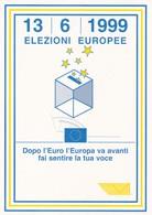 VIAREGGIO ELEZIONI DEL PARLAMENTO EUROPEO GIORNO DI EMISSIONE 1999 - Eventi