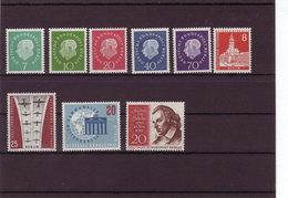 Berlin, Kpl. Jahrgang 1959** (T 8480) - Unused Stamps