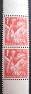R1692/418 - 1939 - TYPE IRIS - PAIRE VERTICALE N°433a TIMBRES NEUFS** BdF - Frankreich