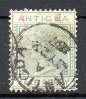 AMERIQUE CENTRALE - ANTIGUA - (Colonie Britannique) - 1882 - N° 10 - 12 P. Vert - (Victoria) - Antigua Et Barbuda (1981-...)