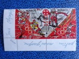 MONACO 1997 Y&T N° 2142 & 2143 ** - JEUX OLYMPIQUES D'HIVER A NAGANO - Ongebruikt
