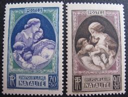 R1692/420 - 1939 - N°440 à 441 NEUFS** - Cote : 16,00 € - Frankreich