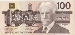 Billet De 100 Dollars Canadiens De 1988 , Très Peu Circulé - Canada