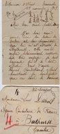 VP13.614 - 1919 - Lettre De Mme L. DUBOIS à VILLENEUVE D'OLMES Pour Mr DUBOIS à BATHURST ( Gambie ) - Récit - Manoscritti