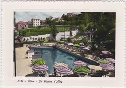 LIBAN LEBANON 1952 CARTE POSTALE ALEY -  LA PISCINE D'ALEY HOTEL - Liban