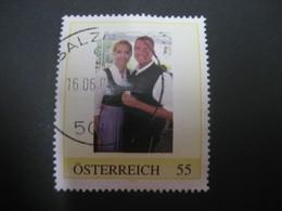 Österreich- Pers.BM Glückliches Pärchen In Tracht Gestempelt - Österreich