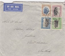 COVER. MOZAMBIQUE. 21 SEPT 1935. BEIRA TO SCOTLAND - Mozambique