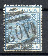 AMERIQUE CENTRALE - ANTIGUA - (Colonie Britannique) - 1882 - N° 12 - 4 P. Bleu- (Victoria) - Antigua Et Barbuda (1981-...)