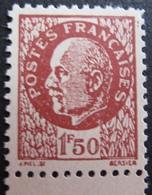R1692/422 - 1941 - TYPE PETAIN - N°517e (*) BdF ---> FAUX FFI - France
