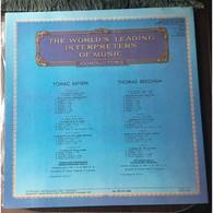 Thomas Beecham, Conductor: Handel-Beecham Pastor Fido Opera Suite; Haydn Symphonies Nos 93, 100, 104  2LPs - Classique