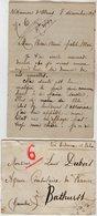 VP13.615 - 1919 - Lettre De Mme L. DUBOIS à VILLENEUVE D'OLMES Pour Mr DUBOIS à BATHURST ( Gambie ) - Récit - Manuscrits