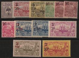 Nouvelle Calédonie - 1924-27 - N°Yv. 127 à 138 - Série Complète - Neuf Luxe ** / MNH / Postfrisch - Nouvelle-Calédonie