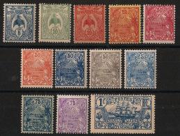Nouvelle Calédonie - 1922-28 - N°Yv. 114 à 125 - Série Complète - Neuf Luxe ** / MNH / Postfrisch - Nouvelle-Calédonie