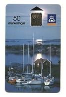 Svezia - Tessera Telefonica Da 50 Units T588 - Barche
