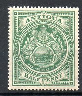 AMERIQUE CENTRALE - ANTIGUA - (Colonie Britannique) - 1908-17 - N° 29 - 1/2 P. Vert - Antigua Et Barbuda (1981-...)