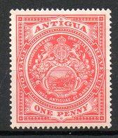 AMERIQUE CENTRALE - ANTIGUA - (Colonie Britannique) - 1908-17 - N° 30 - 1 P. Rouge - Antigua Et Barbuda (1981-...)