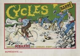 Cycle Postcard Barré - Reproduction - Pubblicitari