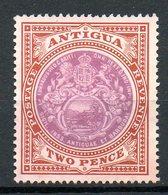 AMERIQUE CENTRALE - ANTIGUA - (Colonie Britannique) - 1908-17 - N° 31 - 2 P. Brun-rouge Et Violet - Antigua Et Barbuda (1981-...)