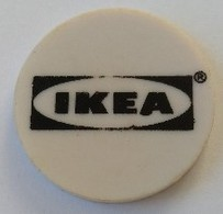 Jeton De Caddie - IKEA - En Plastique - - Jetons De Caddies