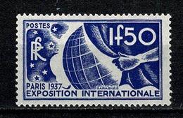 France 1936 Yv. & T. 327*   (2 Scans) - Frankreich