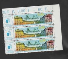 FRANCE / 1997 / Y&T N° 3073 ** : Versailles (avec Vignette) X 3 En Bloc - Gomme D'origine Intacte - Neufs
