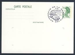 France Rep. Française 1988 Card / Karte / Carte - Fête De La Gare, Dole / Railway Station / Bahnhofsfest - Treinen