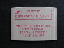 TB Carnet 2187 - C4b: Point Sur Le X,  Neuf XX. - Usage Courant