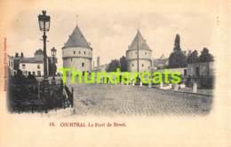 CPA KORTRIJK COURTRAI BEYAERT FILLEUL LE PONT DE BROEL - Kortrijk