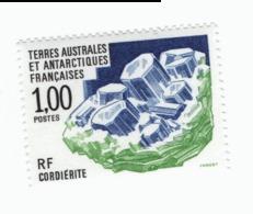 VP7L1  TAAF FSAT Neufs ** MNH Minéraux Cordiérite 1 F 1994 N°185 - Terres Australes Et Antarctiques Françaises (TAAF)