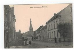 Hamont   Ingang Der Gemeente  Uitg.Fr.Vanden Bossche,Photo - Hamont-Achel