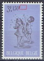 Variété 1 MNH Du 1401 - COB 12,50 - Errors And Oddities