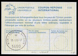 NATIONS-UNIES  VIENNE  Coupon Réponse International / International Reply Coupon - Autres - Europe
