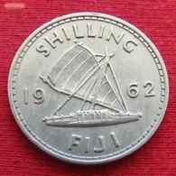 Fiji 1 One Shilling 1962 KM# 23 - Fidji