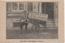 GEORGES LAHAYE  TILLEUR   VOYAGE A PIED   LIEGE LOURDES - Sonstige