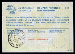 TUNISIE  Coupon Réponse International / International Reply Coupon - Tunisia