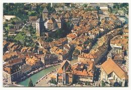 ANNECY LE VIEIL ANNECY SON CHATEAU ET LE CANAL DU THIOU 74 - Annecy