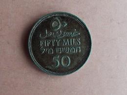 PIECE 50 PIASTRES. PALESTINE 1939 - Autres Monnaies
