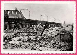 Cp Dentelée - Verwoest Rotterdam 1940 - No A. Binnenrotte - Bombardement - Gebr. SPANJERSBERG - SPARO - Rotterdam