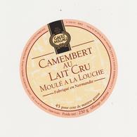 ETIQUETTE DE CAMEMBERT GILLOT ST HILAIRE DE BRIOUZE GAULT ET MILLAU - Fromage
