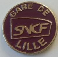 Jeton De Caddie - SNCF - GARE DE LILLE (59) - En Métal - Neuf - - Jetons De Caddies