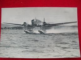 HYDRAVION IDROVOLANTE JUNKERS JU-52  VERA FOTO - 1939-1945: 2ème Guerre