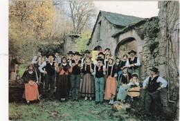 VILLEFRANCHE-de- ROUERGUE: LOUS AUSSELOUS DEL ROUERGUE  Groupe Folklorique - Personnages