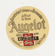 ETIQUETTE DE CAMEMBERT BUQUET CHAMBOIS 61 Q AUGELOT - Fromage