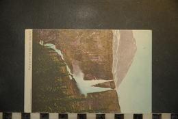 CP, Amerique, CANADA  Twin Falls Near Field BC On CP R'y Edition Montreal Litho Dos Simple Precurseur - Colombie Britannique