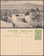 """Congo Belge - EP Vue 5C Vert - Nº33 Uvira """" Entrée De La Redoute """" (DD) DC1073 - Belgian Congo - Other"""