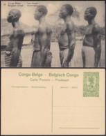 "Congo Belge - EP Vue 5C Vert - Nº37 "" Types Bangala "" (DD) DC1074 - Belgian Congo - Other"