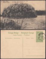 """Congo Belge - EP Vue 5C Vert - Nº67 Le Lualaba """" Rocher Formant Les Portes D'Enfer """" (DD) DC1083 - Belgian Congo - Other"""