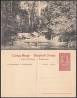 """Congo Belge - EP Vue 10C Rouge - Nº9  """" Un Coin De Forêt Du Mayumbe """" (DD) DC1087 - Belgian Congo - Other"""