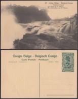 "Congo Belge - EP Vue 15C Vert - Nº97 Stanleyville "" Les Chutes De La Tshopo "" (DD) DC1095 - Belgian Congo - Other"